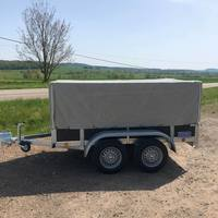 Promo double axles 2m50 + frame and tarpaulin
